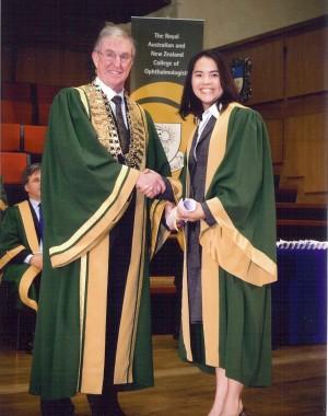 RANZCO graduation photo